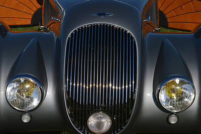 British Hot Rod Photograph - Bentley Roadster by Bill Dutting