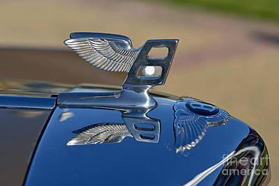 Retro Photograph - 1956 Bentley S1 by George Atsametakis