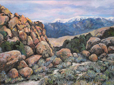 Art Print featuring the painting Benton by Donna Tucker
