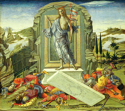 Resurrection Drawing - Benvenuto Di Giovanni, The Resurrection, Italian by Litz Collection