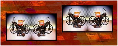 Photograph - Benz Replica Of Equestrian Coach by Ericamaxine Price
