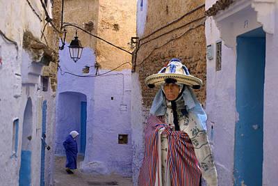 Berber Woman Photograph - Berber by Christian Heeb