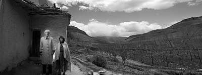 Photograph - Berber Couple by Roberto Falck