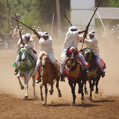 Photograph - Berber Horsemen 1 by David Davies