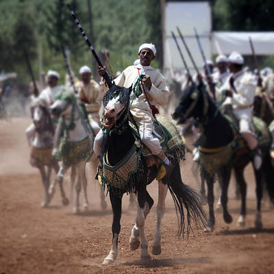 Photograph - Berber Horsemen 2 by David Davies