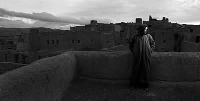 Photograph - Berber Portrait by Roberto Falck