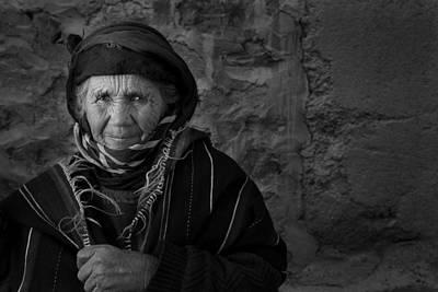 Photograph - Berber Woman by Roberto Falck