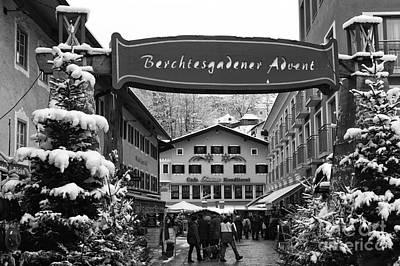 Photograph - Berchtesgaden Advent by John Rizzuto