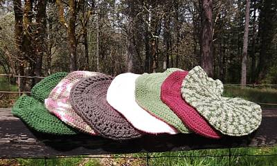 Tapestry - Textile - Berets By V Lee by VLee Watson