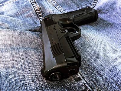 Gun Photograph - Beretta Px4 by Raphael Campelo