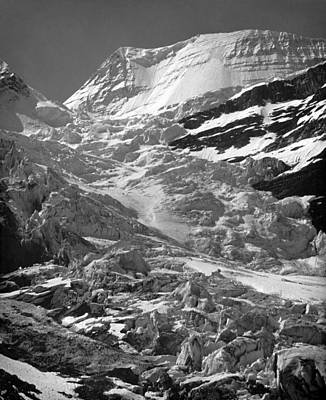 Photograph - Berg Glacier by Ed  Cooper Photography