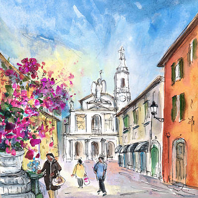 Painting - Bergamo Lower Town 01 by Miki De Goodaboom