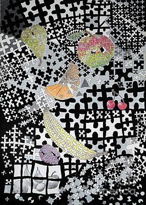 Fruit Puzzle Original by Elaine Berger