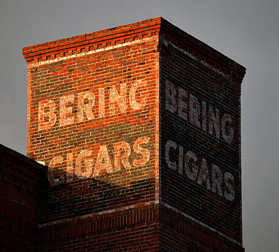 Photograph - Bering Cigar Factory One by David Lee Thompson
