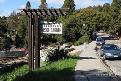 Berkeley Rose Garden 5d22426 Art Print