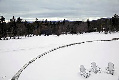 Berkshires Winter 2 - Massachusetts Print by Madeline Ellis
