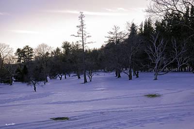 Berkshires Winter 5 - Massachusetts Art Print by Madeline Ellis