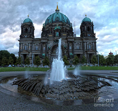 Berlin - Cathedral Art Print by Gregory Dyer