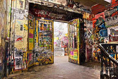 Berlin - The Kunsthaus Tacheles Art Print