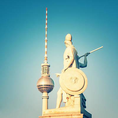 Berlin Photograph - Berlin - Tv Tower by Alexander Voss