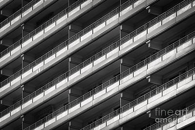Berlin Balconies Art Print by Rod McLean