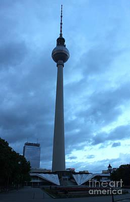 Berlin - Berliner Fernsehturm - Radio Tower No.02 Art Print by Gregory Dyer