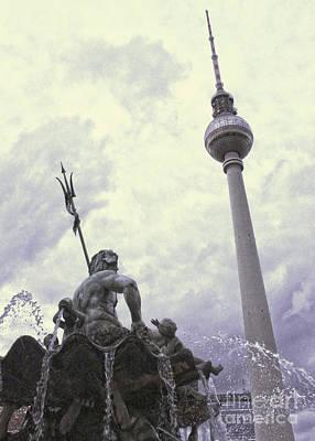 Berlin - Berliner Fernsehturm - Radio Tower No.04 Art Print by Gregory Dyer