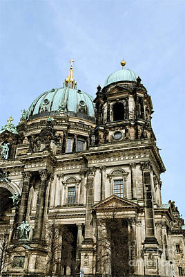 Photograph - Berlin Cathedral by Design Windmill