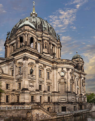 Photograph - Berlin Cathedral by Endre Balogh