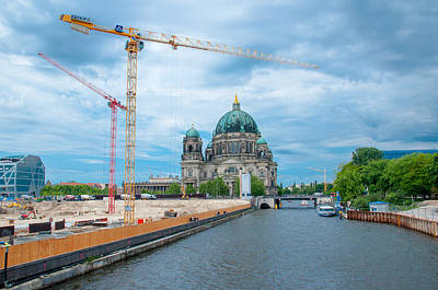 Photograph - Berlin Cathedral by Iryna Soltyska