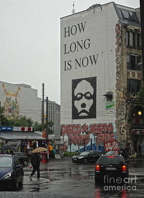Berlin - How Long Is Now Art Print by Gregory Dyer