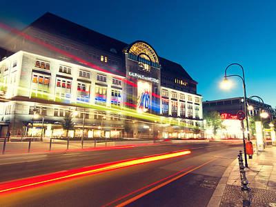 Berlin Photograph - Berlin Kadewe by Alexander Voss