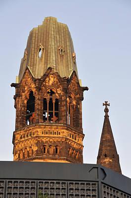 Photograph - Berlin Kaiser Wilhelm Memorial Church by Matthias Hauser