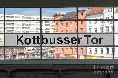 Berlin Kottbusser Tor Print by Jannis Werner