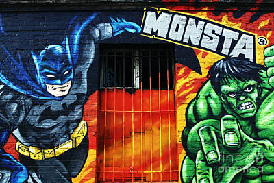 Photograph - Berlin Monsta Door by John Rizzuto