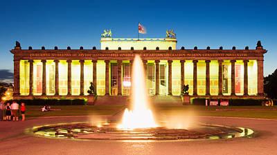 Berlin Photograph - Berlin Neues Museum by Alexander Voss