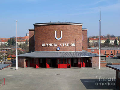 Photograph - Berlin Olympic Stadium Station by Art Photography