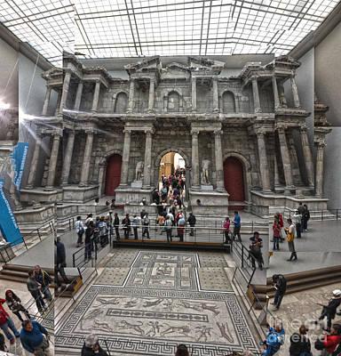 Berlin - Pergamon Museum - No.05 Art Print by Gregory Dyer