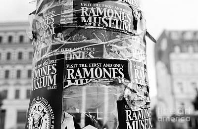 Photograph - Berlin Ramones Museum by Dean Harte