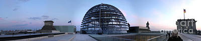 Berlin - Reichstag Panorama Print by Gregory Dyer