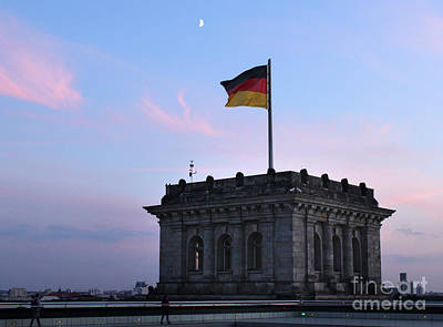 Photograph - Berlin - Reichstag Roof - No.01 by Gregory Dyer