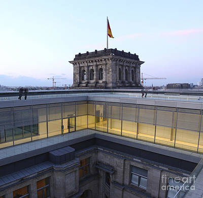 Berlin - Reichstag Roof - No.04 Art Print by Gregory Dyer