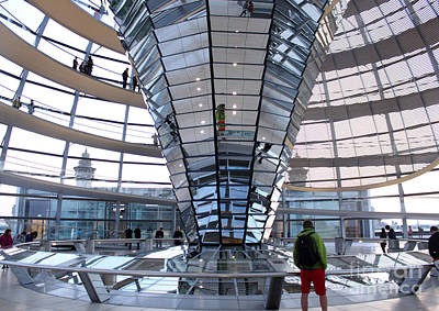 Berlin - Reichstag Roof - No.05 Art Print by Gregory Dyer