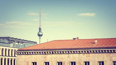 Berlin Photograph - Berlin Sky by Alexander Voss