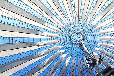 Photograph - Berlin - Sony Center  by Marc Huebner