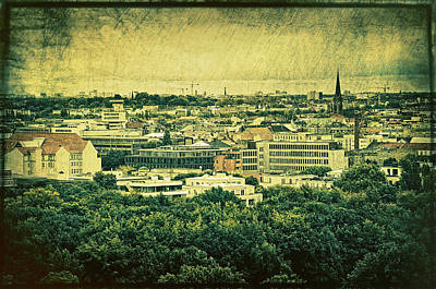 Berlin - Stylized To Old Art Print by Gynt
