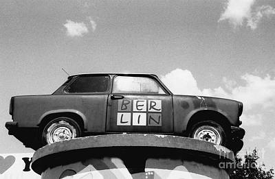 Photograph - Berlin Trabant by Dean Harte