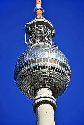 Berlin Tv Tower - Fernsehturm Original