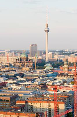 Photograph - Berlin Tv Tower by Iryna Soltyska