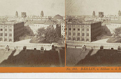 Berlin Drawing - Berlin, V. Schloss N. D Construction Academie by Artokoloro